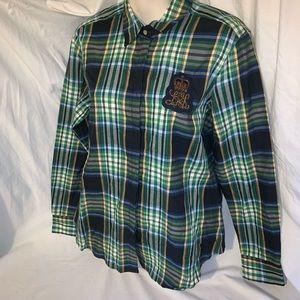 Lauren Ralph Lauren women's plaid shirt medium